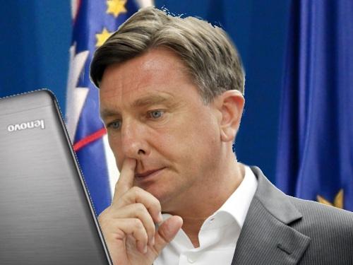 Slovenija.Ljubljana.21.06.2011 Borut Pahor po vcerajsnjem sestanku na vladi.Foto:Matej Druznik/DELO